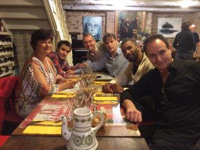 avec Christian Lauba, Régis Campo, Richard Ducros, Wilhem Latchoumia