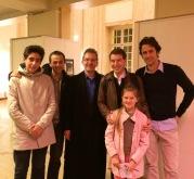 Avec Nathanael Gouin, Bertrand Lavaud Bach, Julien Gaudinière, Diégo Sanchez